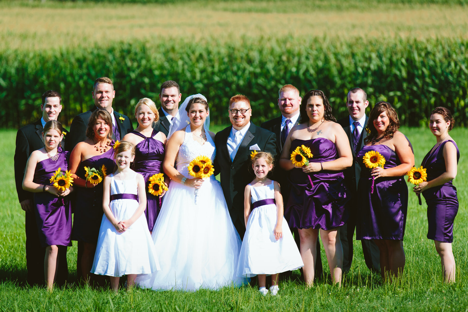 silly wedding party photo at doubletree lancaster wedding by Washington DC Wedding Photographer Adam Mason