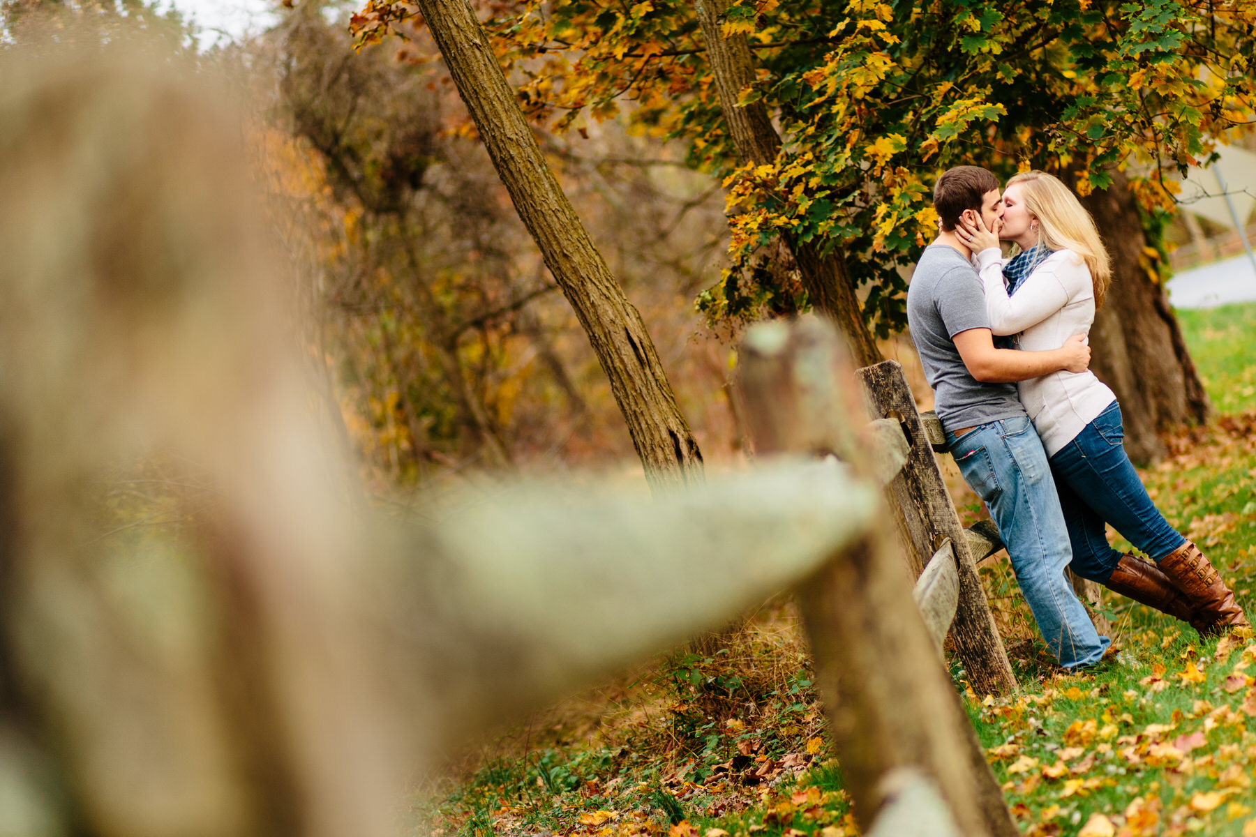 chester springs and phoenixville engagement session by Washington DC Wedding Photographer Adam Mason
