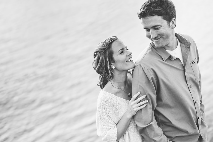 local lewes engagement session on the beach