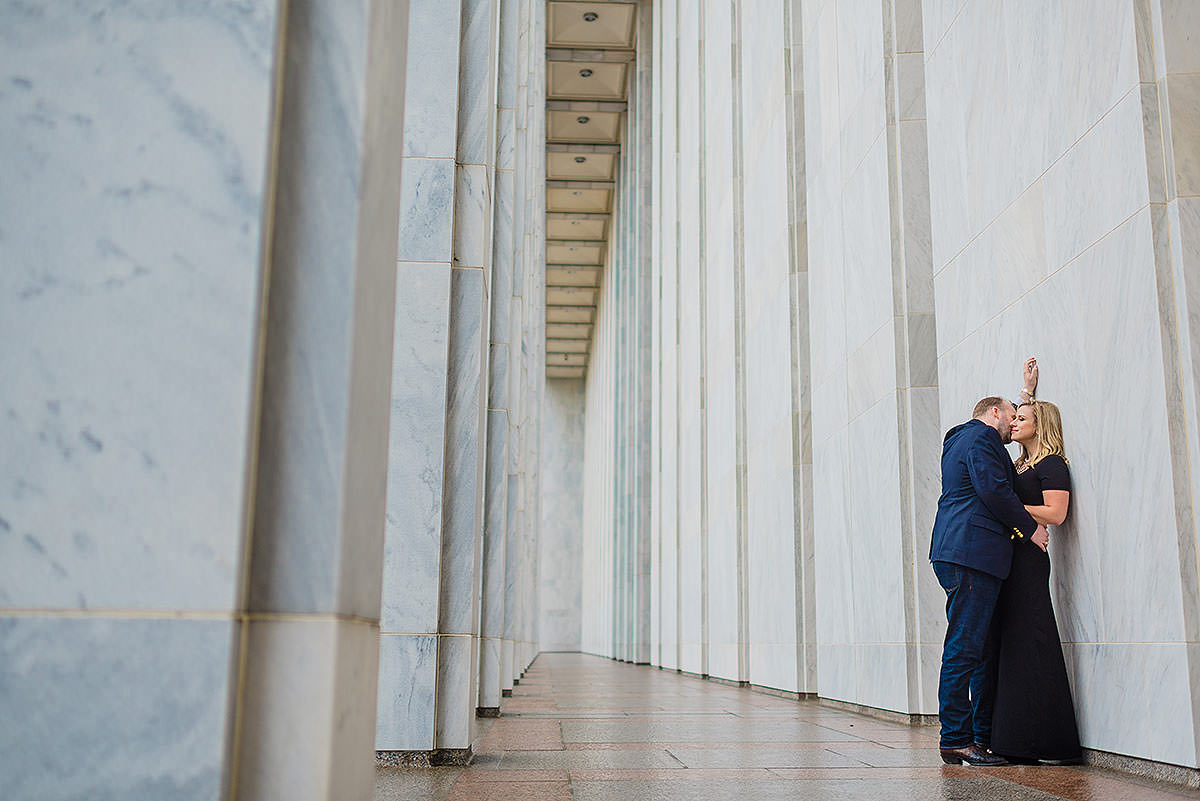 wedding portraits on the national mall in washington dc by Washington DC Wedding Photographer Adam Mason
