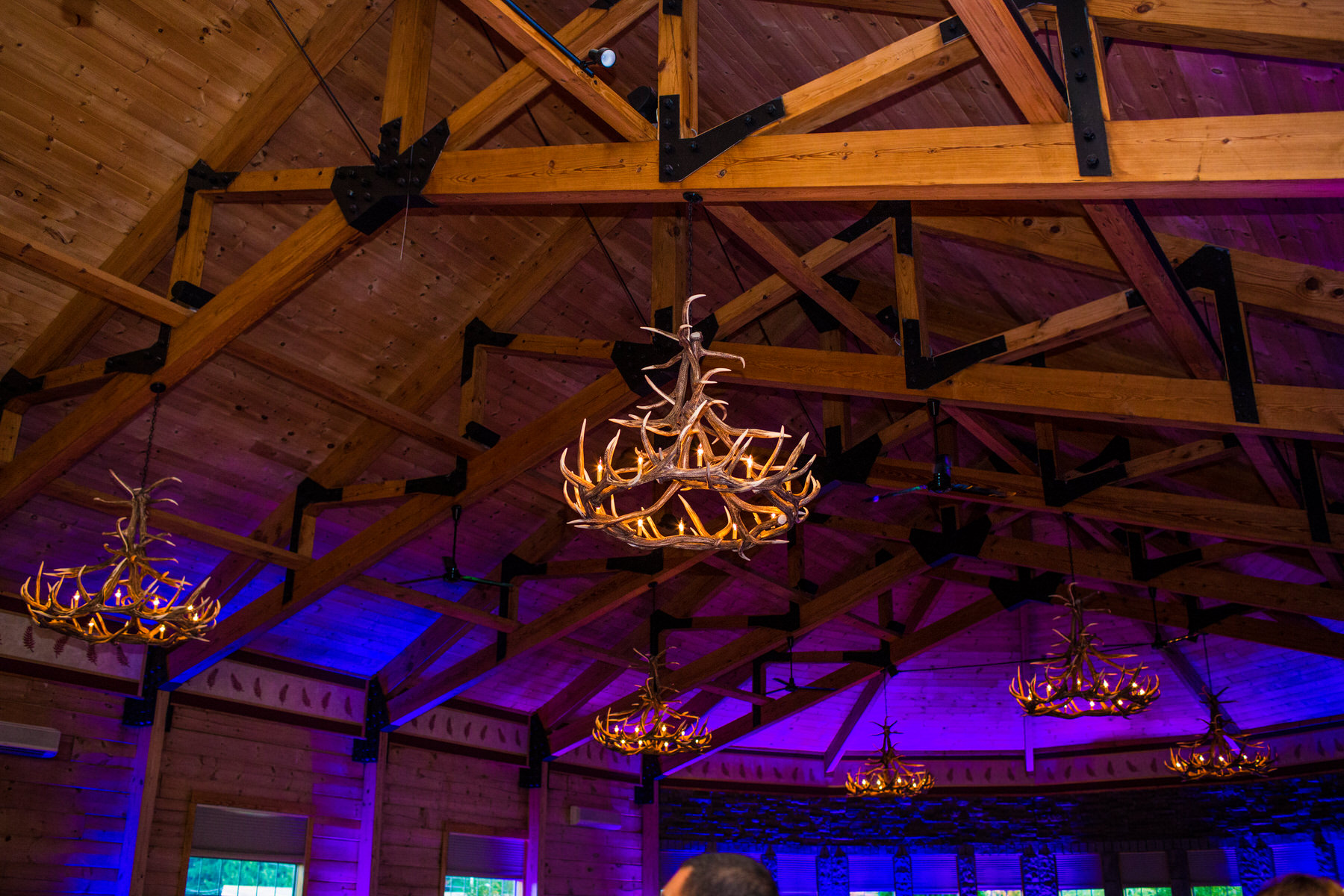 Details in the Main Hall at The Red Fern by Washington DC Wedding Photographer Adam Mason