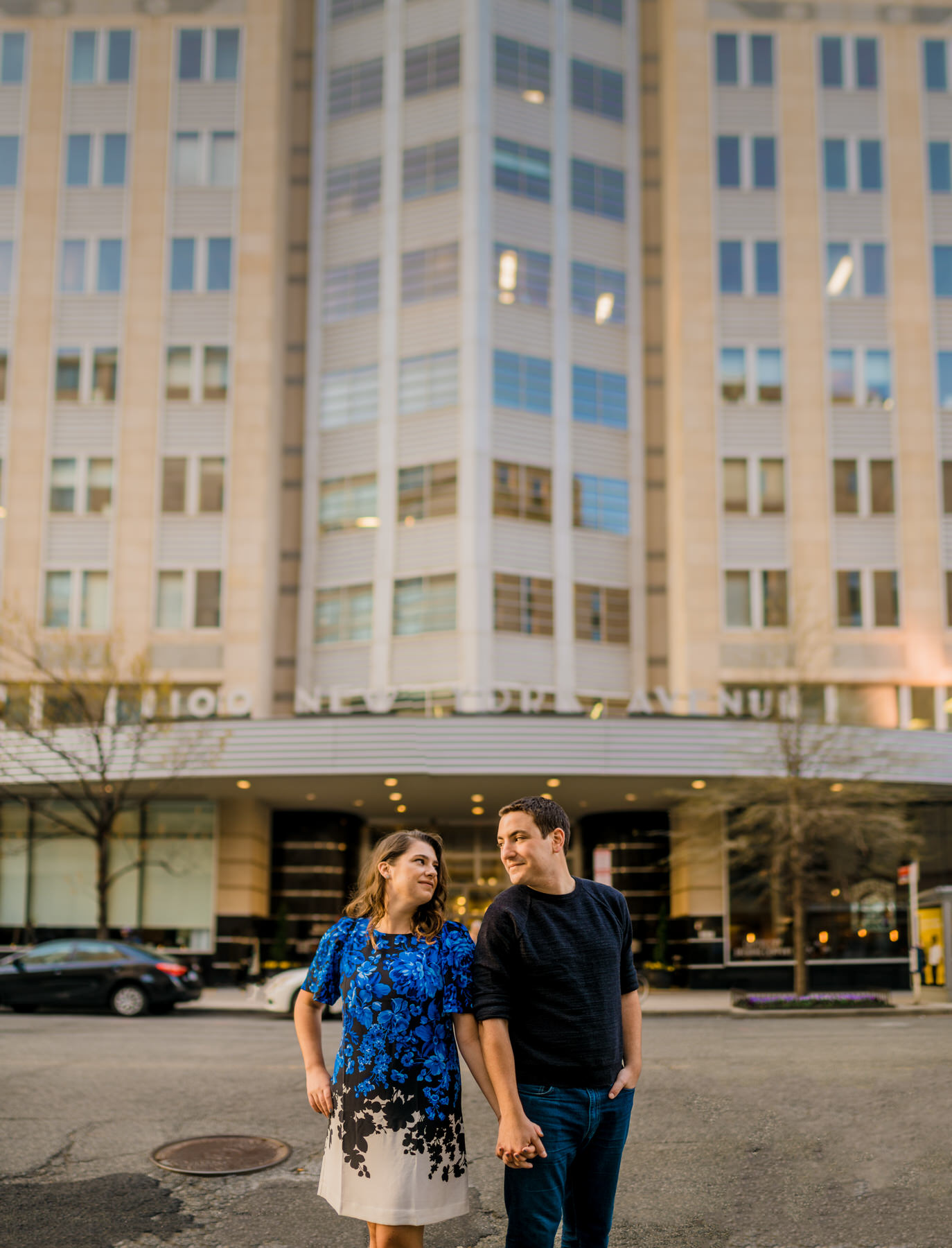 downtown dc engagement session by Washington DC Wedding Photographer Adam Mason